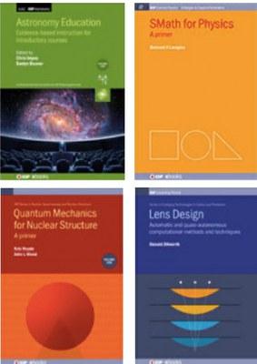 Immagine di copertine di 4 libri dell'editore