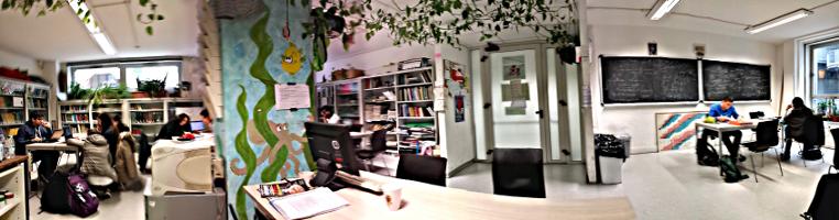 biblioteca studenti panoramica