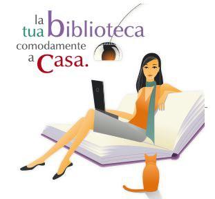 Immagine di ragazza seduta in poltrona che legge un articolo di rivista acquistato dal'Ateneo